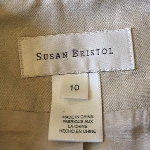 Susan Bristol Tops - Susan Bristol Light Beige Vest 10